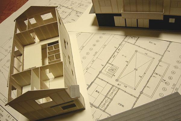 住宅模型や3Dパースを作成。
